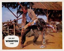 Winnetou 1. Teil ORIGINAL Aushangfoto EA Pierre Brice / Lex Barker / Karl May