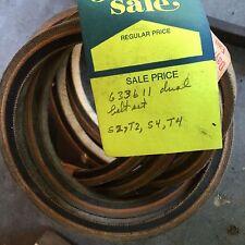 Studebaker truck belt, NOS,  PN 633611.  Item:  0780