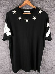 Givenchy Star Patch 47 T-Shirt Stitched sz X-Large