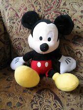 New listing Vintage Older Washable Disney Mickey Mouse Stuffed Animal Plush Toy 12 inch