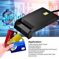Intelligent ID CAC DNIE ATM IC SIM Smart Chip Card Reader Writer Programmer