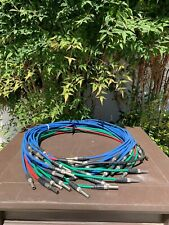 Bundle of Full Size Patch Cables