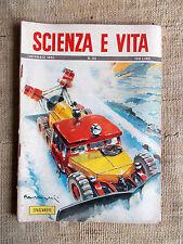 Scienza e vita n.24 gennaio 1951 Spazzaneve stradali