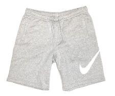 Nike Herren Shorts Gr. XL 54 Grau Weiss Fitness Jogging Hose Sport Bermuda Sweat
