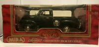 1953 Mira Chevrolet Pick Up Burgundy Die Cast Golden Line 1:18 in Box Calidad