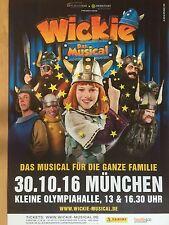 WICKIE – DAS MUSICAL  2016 MÜNCHEN  ++  orig. Poster - Plakat  NEU