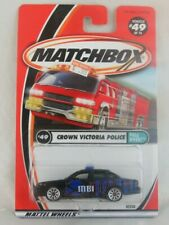 Matchbox Crown Victoria Police #49 Pull Over