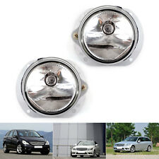 1Pair L+R Side Front Fog Light Lamp Kit For 2008-2010 Benz C300 C63 C350 S