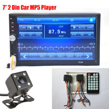 """7"""" Touch Screen 2 DIN Car MP4 MP5 Player + Night Vision Camera + Remote Control"""