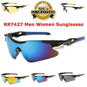 RR7427 Men Women Sunglasses Road Bicycle Cycling Sun Glasses Protection Goggles