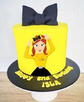 EMMA WIGGLE WIGGLES PREMIUM EDIBLE ICING BIRTHDAY CAKE DECORATION IMAGE TOPPER