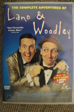 THE COMPLETE ADVENTURES OF LANO & WOODLEY DELETED RARE DVD AUSSIE COMEDY TV SHOW
