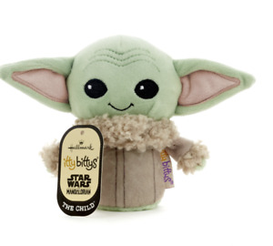 Hallmark Itty Bittys Star Wars Mandalorian The Child Plush New with Tag
