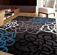 Rug Area Carpet Grey Modern Floor Heating Living Room Dinning Room Kitchen 5'x7'