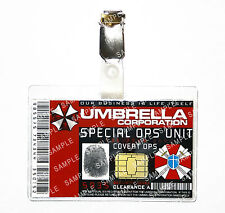 Resident Evil ID Badge Umbrella Corp Special Covert Ops Cosplay Comic Con