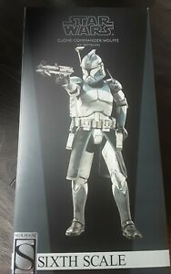 Sideshow Collectibles Star Wars Clone Commander Wolffe 104 Battalion Exclusive