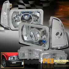 1995-1997 Chevy S10/Blazer Projector Chrome Headlights + Corner + Signal Lights