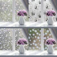 100 cm Fensterfolie Statische Sichtschutzfolie Milchglasfolie DE #xk D!E