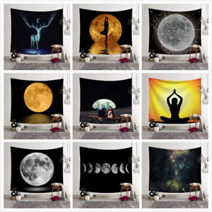 Polyester Wall Hanging Yoga Mat Poster Ethnic Table Cover Tapestry Home Decor