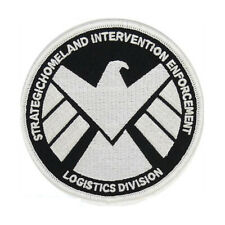 Marvels Agent of Shield Patch | Iron On GLOW IN THE DARK US Seller FREE Shipping