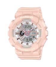 Casio Baby-G * BA110RG-4A Anadigi Rose Gold & Pink Watch for Women