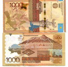 Kazakhstan 1000 tenge 2014   FDS UNC  Pick new  Lotto 4120