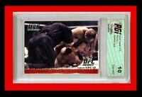 Randy Couture MMA 2009 Topps UFC Rookie Card PGI 10