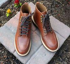 J. CREW Kenton Pacer Boots w/MiUSA socks, *Brand New* sz 8, Chestnut brown, $248