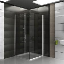 ALPENBERGER Duschkabine Duschabtrennung Dusche 90x90 NANO Duschwand Eckeinstieg