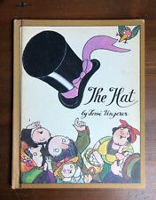 THE HAT Vintage Tomi Ungerer Parents' Press Magazine Book