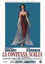 THE BAREFOOT CONTESSA Movie POSTER 27x40 Italian