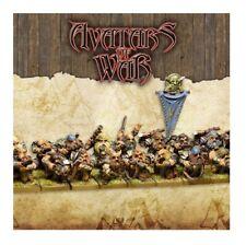 Warhammer Avatars of War Dwarf Clan Marksmen x20 Regiment Ballesteros New