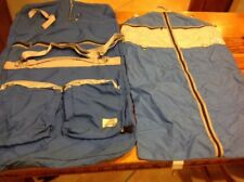 Sandpiper Of California S.O.C. Vintage Garment Bags Blue Luggage
