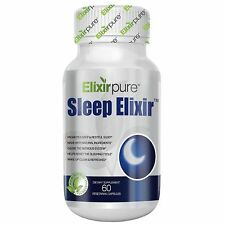 Elixir Natural Sleep Aid Extra Strength Insomnia Relief Calming By ElixirPure
