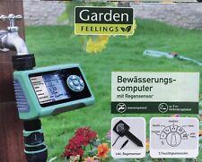 Garden Bewässerungscomputer mit Regensensor wassersparend 5 Feuchtigkeitsstufen