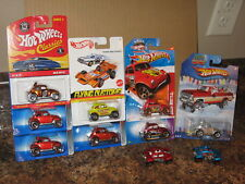 Hot Wheels Lot of 10 VW Baja Beetle Bug Variation Classics Redline Holiday RR