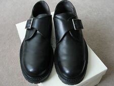 Covington Men's Leather Shoes; Burton; Black, Excellent Condition, Made in Italy