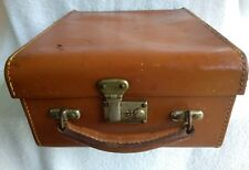 Vintage Bolex Naillard Leather Movie Camera Case With Key Good Condition