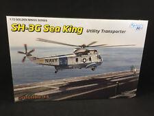 Dragon Models SH-3G Sea King Utility Transporter Chopper 1:72 Scale Kit 5113 NIB