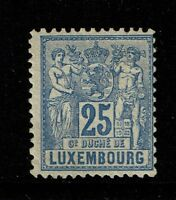 Luxembourg SC# 55, Mint Hinged, Hinge Remnant, Full Original Gum - S4046