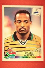 PANINI WC WM FRANCE 98 1998 178 SOUTH AFRICA JACKSON WITH BLACK BACK MINT!!