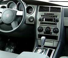 2005 2006 2007 DODGE CHARGER MAGNUM INTERIOR BRUSHED ALUMINUM DASH TRIM KIT  SET (Fits: 2005 Dodge Magnum)