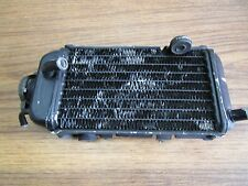 YZ 125 YAMAHA 1986 YZ 125 1986 RADIATOR RIGHT