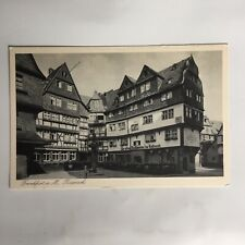 Frankfurt Roseneck Germany Postkarte Unposted Postcard