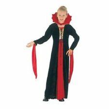 GIRLS Gothic VAMPIRE FANCY DRESS Costume Black NEW