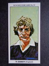 LE SOLEIL soccercards 1978-79 - MARTIN DOBSON - ANGLETERRE #52