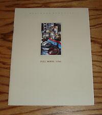 Original 1988 Mercedes-Benz Full Line Sales Brochure 88 S-Class