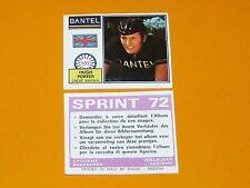 PANINI SPRINT 72 CYCLISME 1972 N°103 HUGH PORTER GB WIELRIJDER CICLISMO