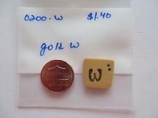 Jabc button #0200.w - Gold w