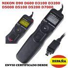 MANDO INTERVALOMETRO DISPARADOR NIKON D90 D3200 D3300 D5100 D5300 D7100 D7200 DF